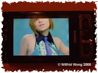 Playing Ayumi Hamasaki's video on my new N95 8GB