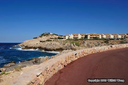 A view near the hotel Mar Azul
